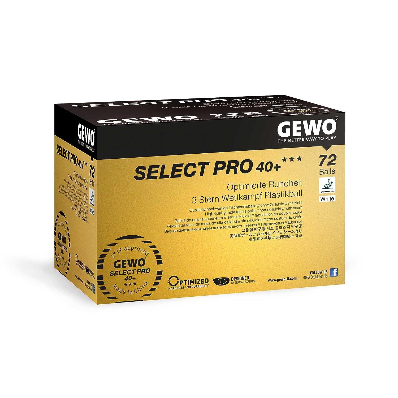 GEWO Ball Select Pro 40+ Tischtennisball GEWO6 #GEWO
