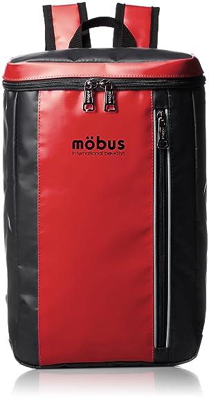 df7728948b94 Amazon | [モーブス] MOBUS トップオープンリュック MBKD505 RED/BLACK ...