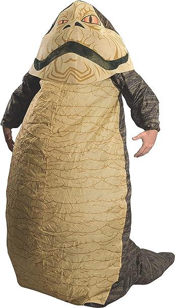 Amazon.com: Rubies Costume Star Wars Jabba The Hut, disfraz ...