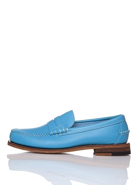 Sebago Mocasines con Antifaz Azul EU 44: Amazon.es: Zapatos y complementos