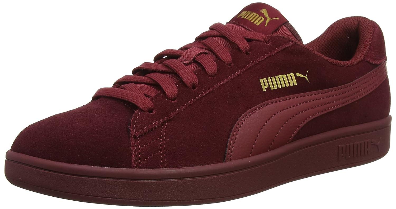 Puma Smash V2, Zapatillas Unisex Adulto 40 EU|Rojo (Pomegranate-pomegranate-pomegranate 20)