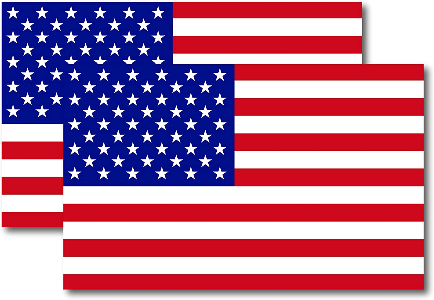 We Stand for The Flag American Flag Car Magnet Decal 6 in x 4 in Heavy Duty for Car Truck SUV Waterproof Magnet Me Up
