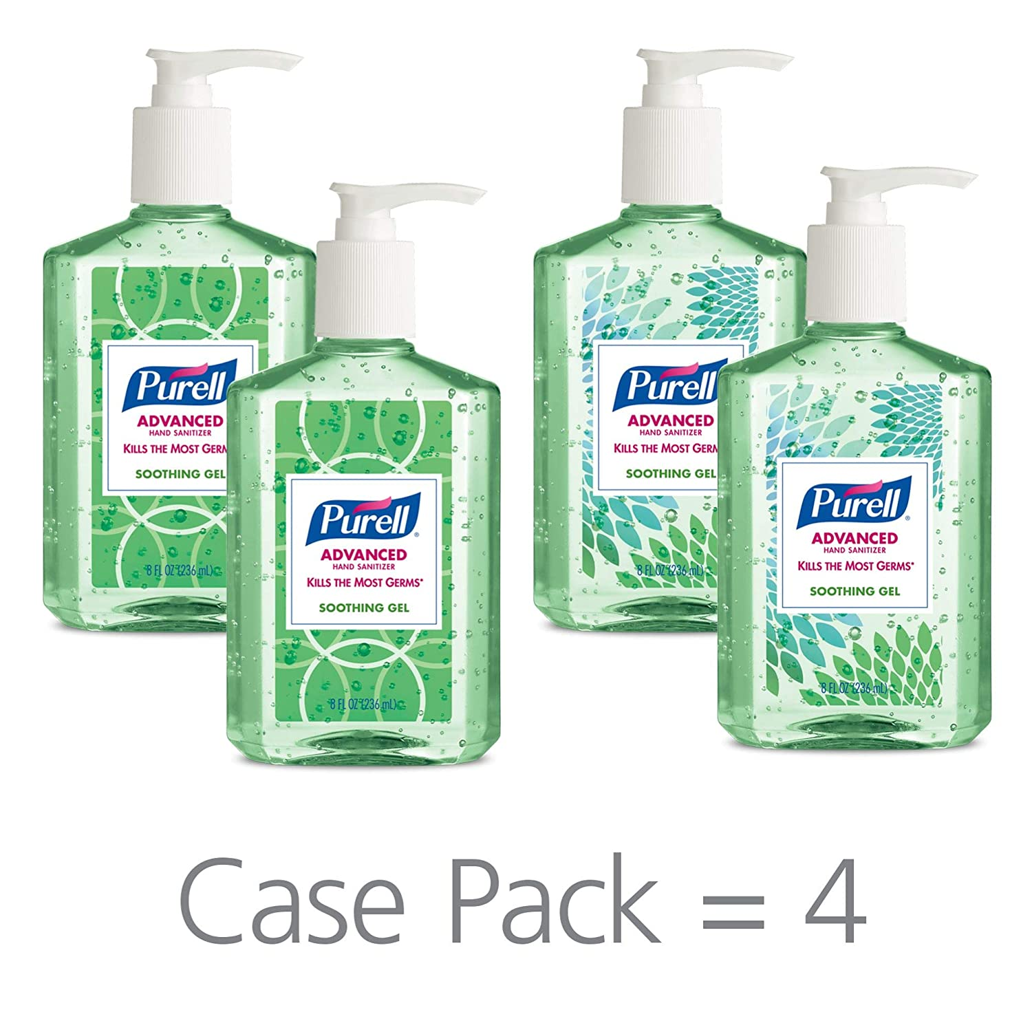 Purell Advanced Hand Sanitizer Aloe Gel Industrial Soap Company