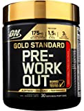 OPTIMUM NUTRITION 30 Servings Gold Standard Pre-Workout with Creatine, Beta-Alanine, and Caffeine for Energy, 300g