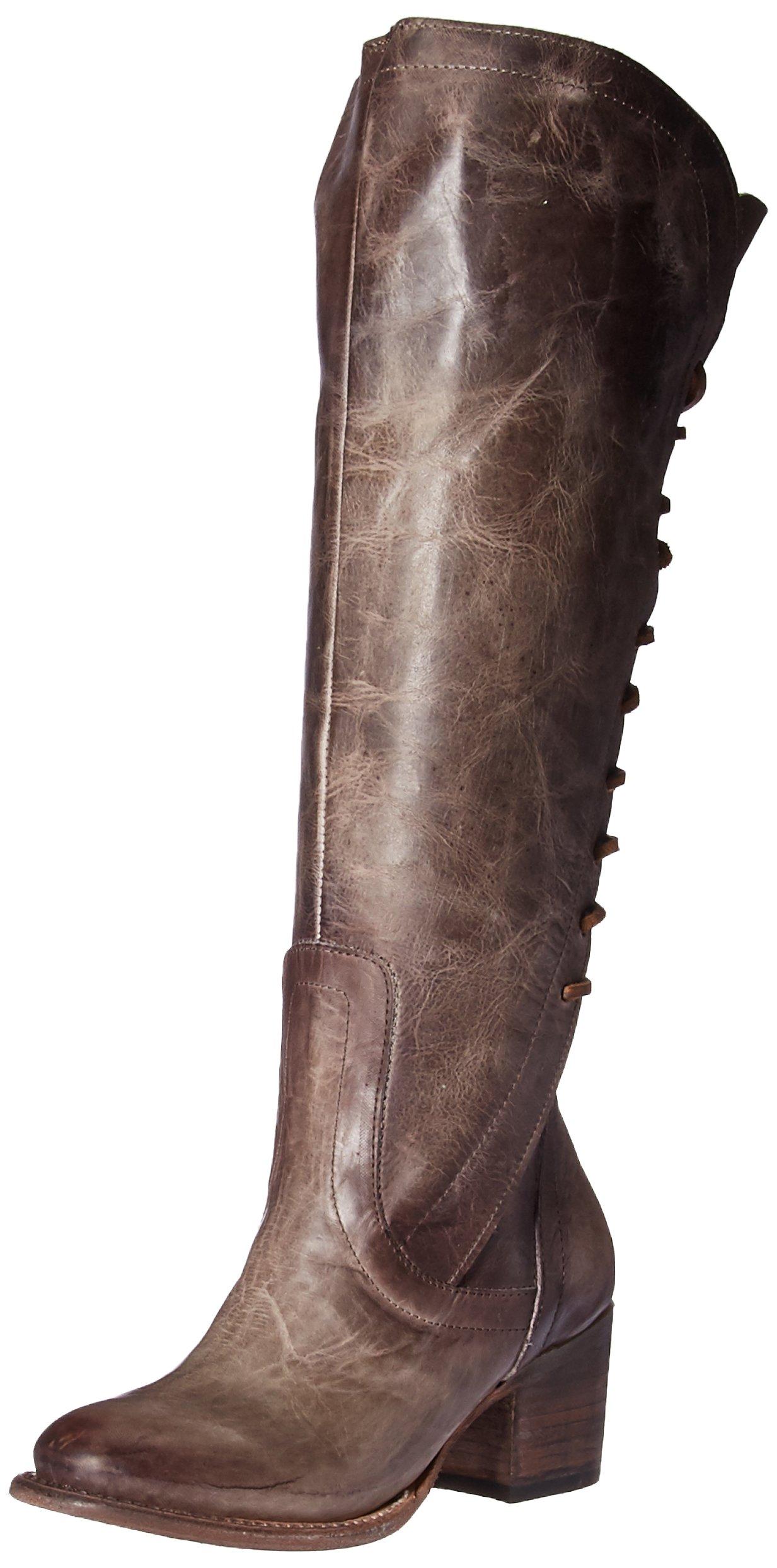 Freebird Women's FB-Cosmo Knee High Boot, Stone, 8 M US
