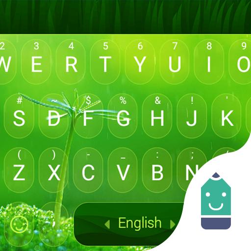 Spring Green Theme&Emoji Keyboard ()
