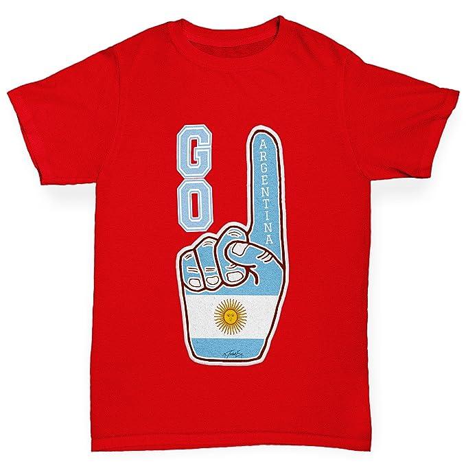 03efb63276721 TWISTED ENVY Go Argentina! Boy's T-Shirt: Amazon.co.uk: Clothing