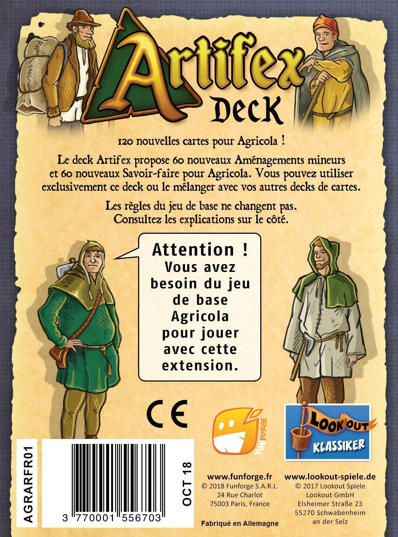 Funforge Agricola - Artifex: Amazon.es: Juguetes y juegos