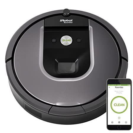 iRobot Roomba 960 Robot Vacuum Bundle- Wi-Fi Connected, Mapping, Ideal for Pet Hair 1 Extra Virtual Wall