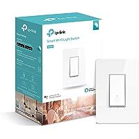 TP-LINK Smart Plug, WiFi, control de dispositivos desde cualquier lugar (HS200), funciona con Amazon Alexa, interuptor inteligente de luz, 5.00 x 2.00 x 3.00 inches, Blanco