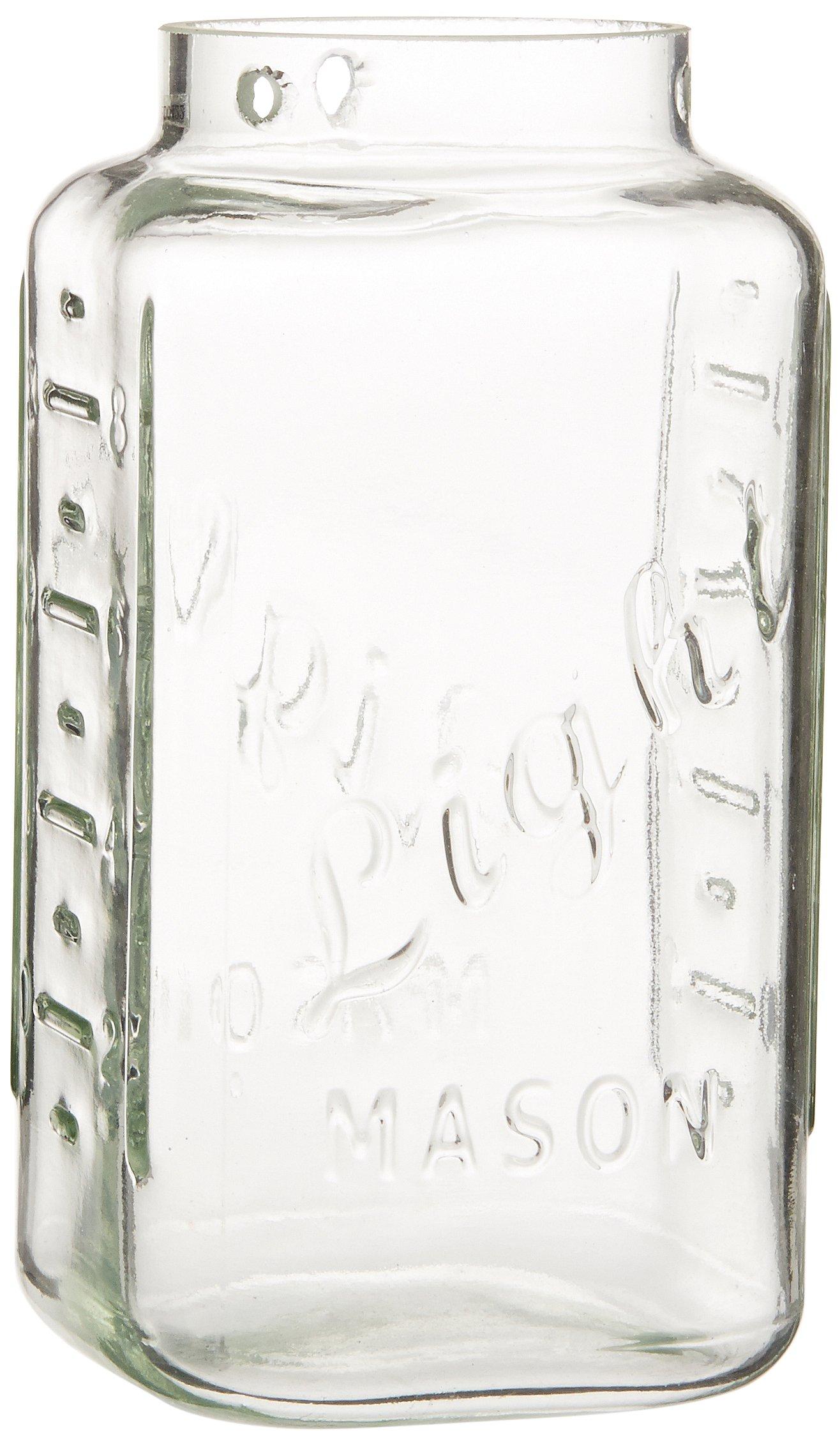 WAC Lighting G497-CL Glass Shade Mason, Clear