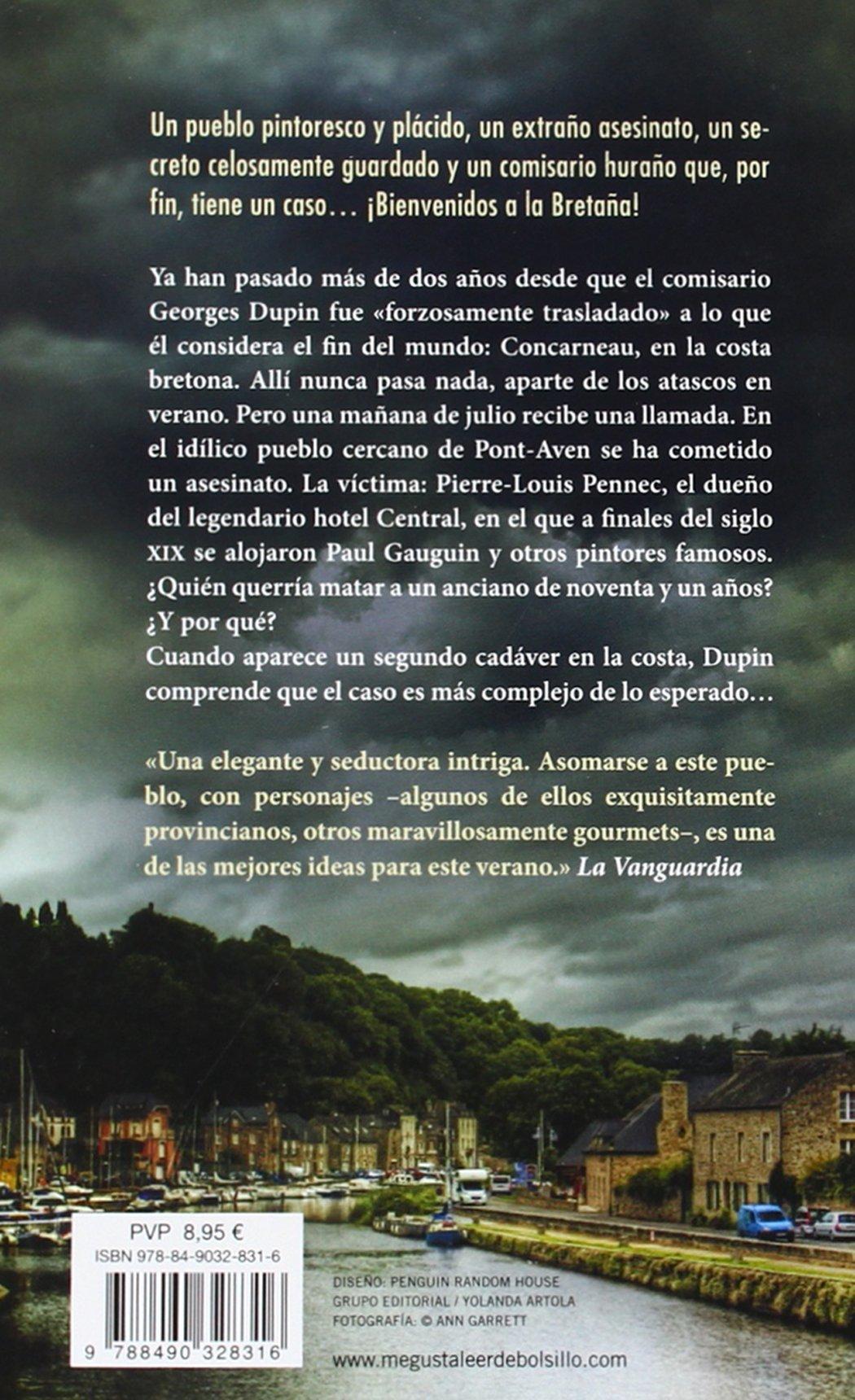 El misterio de Pont-Aven (Comisario Dupin 1): Amazon.es: Jean-Luc Bannalec,  Laura Manero Jiménez;: Libros