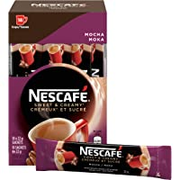 NESCAFÉ Sweet & Creamy Mocha, Instant Coffee Sachets, 18x22g (Pack of 6, 108 Cups)