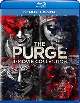 The Purge 4-Movie Collection (Blu-ray + Digital)