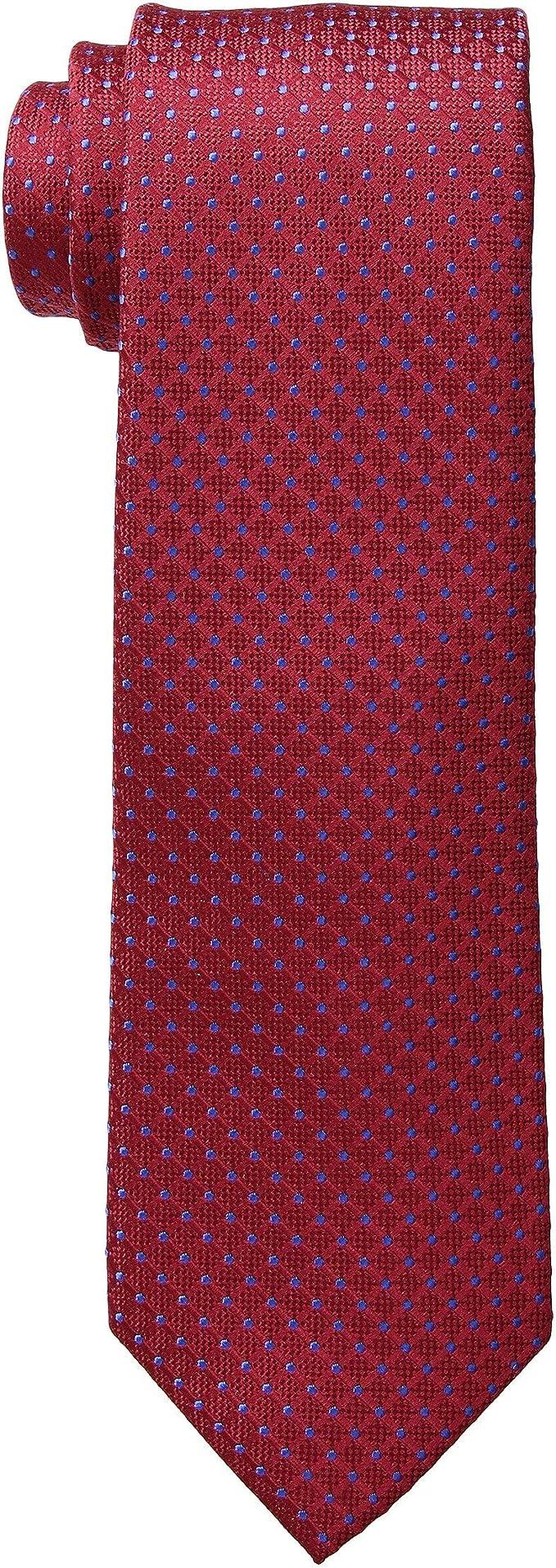 Tommy Hilfiger Hombre Corbata - Rojo - talla única: Amazon.es ...