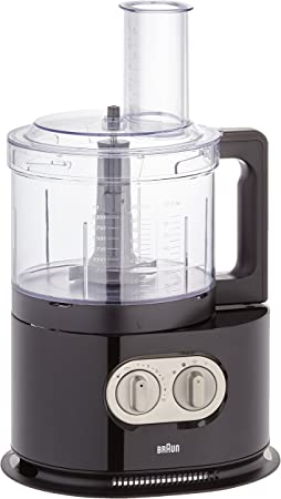 Braun FP 5160 BK Robot de cocina, 1000 W, 2 L, color negro: Amazon.es: Hogar
