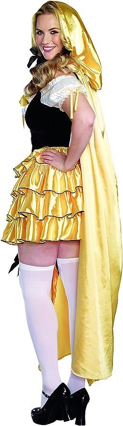 DreamGirl – para Mujer Plus tamaño de la Mujer Disfraz de Ricitos ...