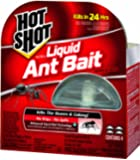 Hot Shot 95762 Mini Ultra Liquid Ant Bait, 4 Count