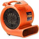 Max Storm 1/2 HP 2550 CFM Durable Lightweight Air Mover Carpet Dryer Blower  Floor
