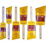 """6pk PRO PERFECT PAINT BRUSH 1.5"""",2"""",2.5"""",3"""" ANGLE SASH Professional Quality at the PERFECT Price! """"Purdy"""" Quality for LESS!!"""