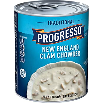 Progresso Traditional, New England Clam Chowder Soup