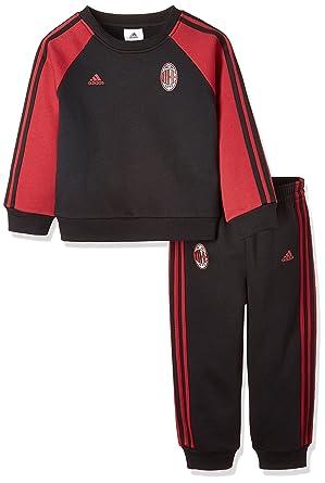 adidas ACM 3s BBY J Chándal AC Milan, Niños: Amazon.es: Ropa y ...