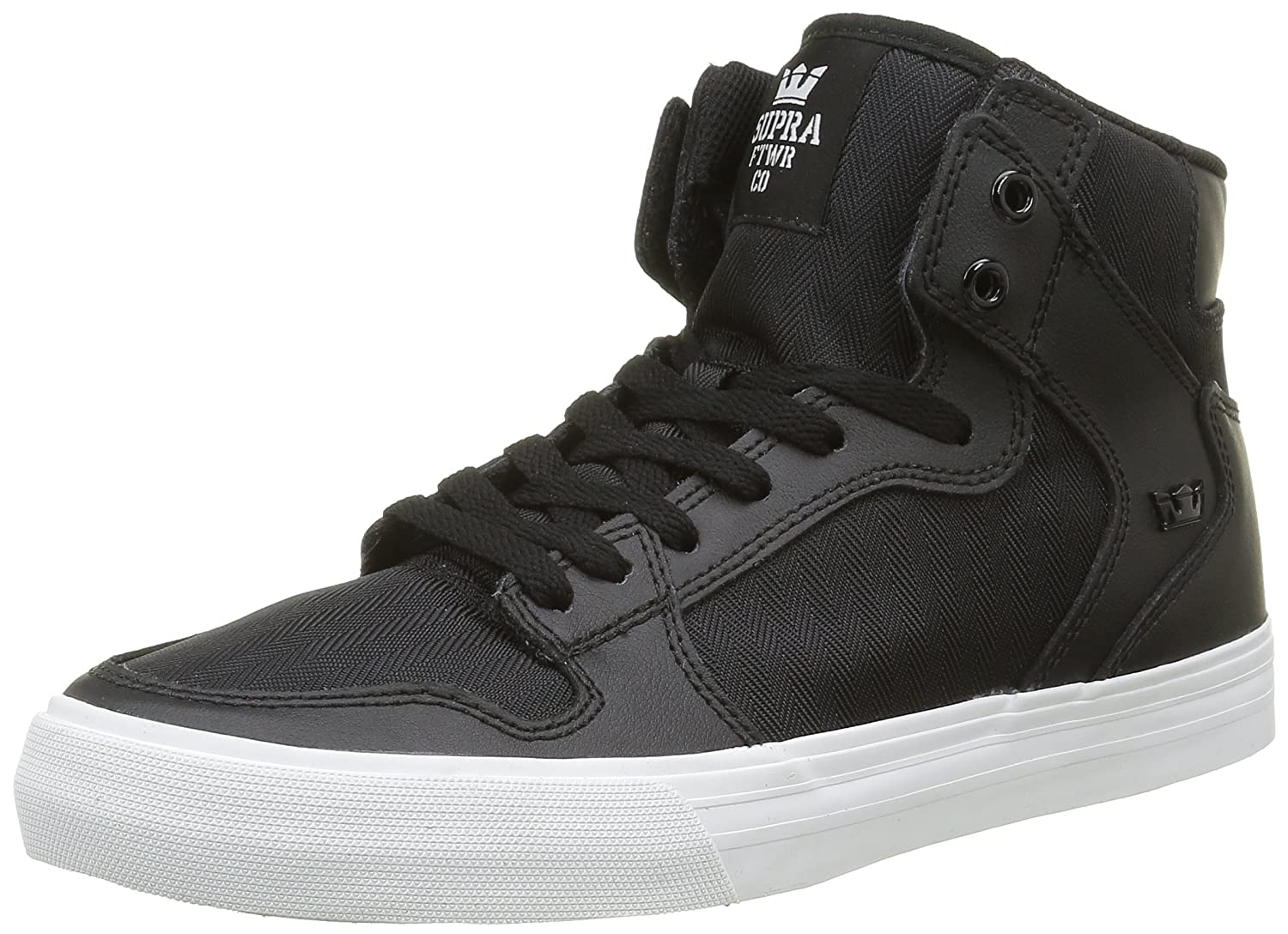 Supra Vaider LC Sneaker B01B3RPQPW Medium / 10 C/D US Women / 8.5 D(M) US Men|Black Leather