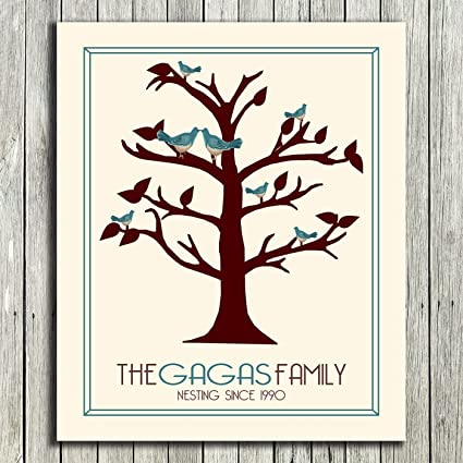 amazon com 8x10 unframed print personalized gift for anniversary