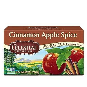 Celestial Seasonings Tea Cinnamon Apple Spice, 20 ct