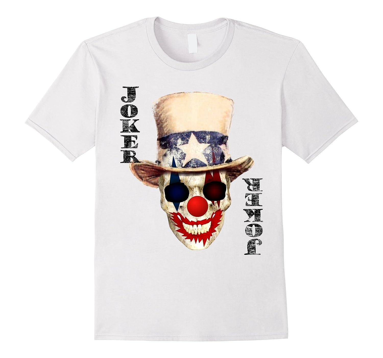 Halloween Joker Card.Playing Card Joker Halloween Costume T Shirt Rose