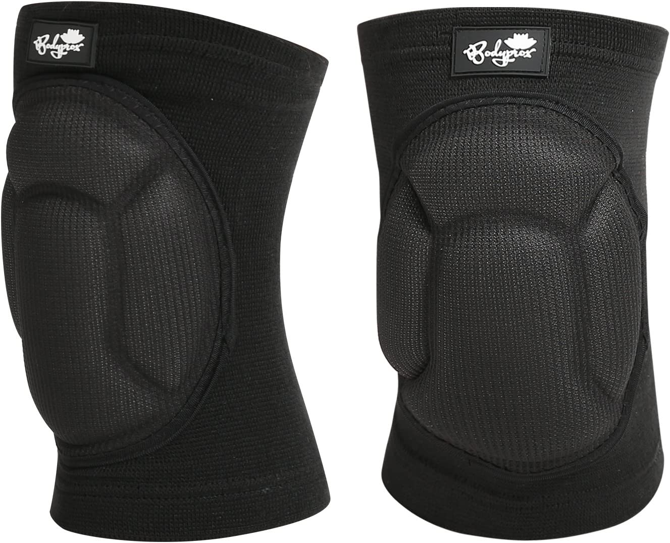 Bodyprox Protective Knee Pads, Thick Sponge Anti-Slip, Collision Avoidance Knee Sleeve : Sports & Outdoors