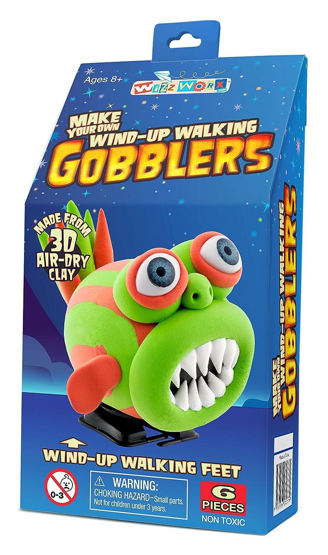 Wind-Up Walking Gobbler Green University Games 69033