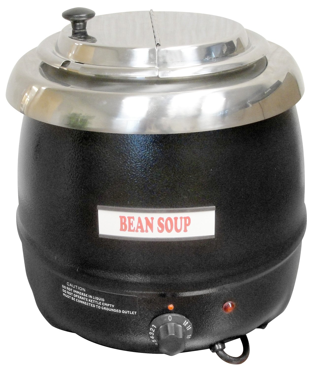 Commercial Electric Soup Kettle Warmer - 10.5 Quart