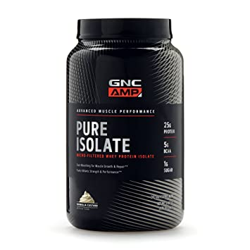 GNC AMP Pure Isolate Whey Protein