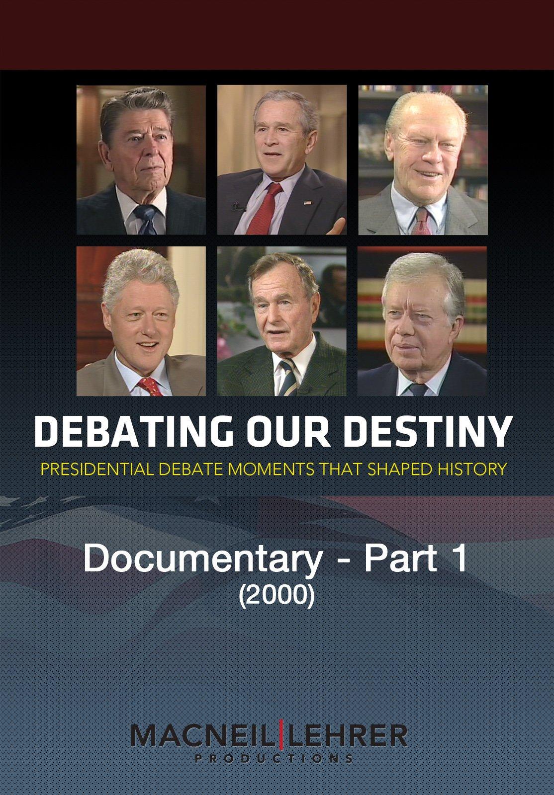 Amazon.com: Debating our Destiny documentary - Part 1: MacNeil/Lehrer Productions: Amazon Digital Services LLC