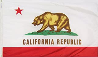 product image for Annin Flagmakers Model 140460 California State Flag 3x5 ft. Nylon SolarGuard Nyl-Glo 100% Made in USA to Official State Design Specifications.