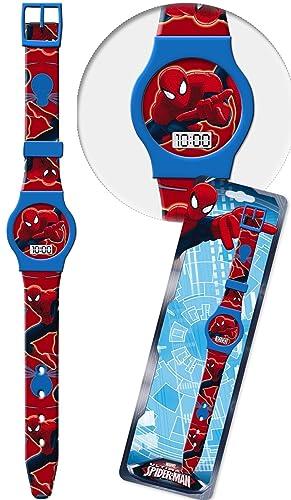 Reloj Spiderman Marvel de pulsera digital conf. CM 23: Amazon.es: Relojes