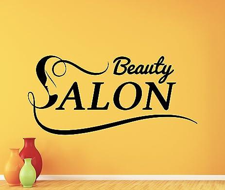 Beauty Salon Wall Decal Stylist Hairdressing Scissors Hairbrush ...