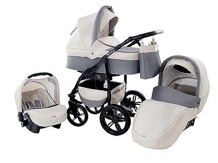 Baby Merc Q9 Carrito Cochecito 3en1+silla de coche (50 ...