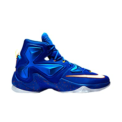 519c438b41d Nike Mens Lebron XIII Blue Basketball Shoe - 11.5 ... Black BLue Gold Nike  LeBron 13 ...