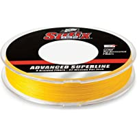"Sufix, 832 Advanced Superline, 8 lbs Tested, 0.007"" Diameter, 300 Yards, Hi Vis Yellow (660-108Y)"