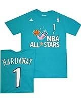 eb9e918177e Orlando Magic Anfernee Penny Hardaway All Star 1996 Teal Blue T Shirt 1996