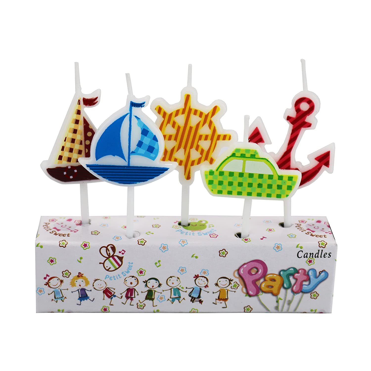 Mermaid Hinsper Party Candles for Birthday Party Special Days Festivals
