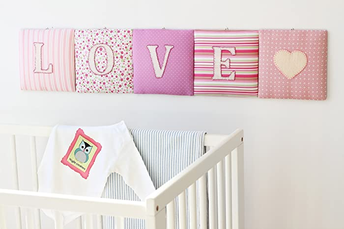personalized name banner wall cushion name signhanging wall lettersnursery decor