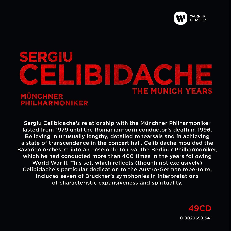 The Munich Years: Sergiu Celibidache: Amazon.es: Música