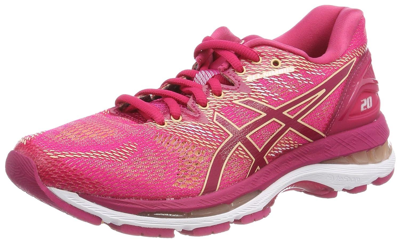 Asics Gel-Nimbus 20, Zapatillas de Running para Mujer 39.5 EU|Rosa (Bright Rose/Bright Rose/Apricot Ice 2121)