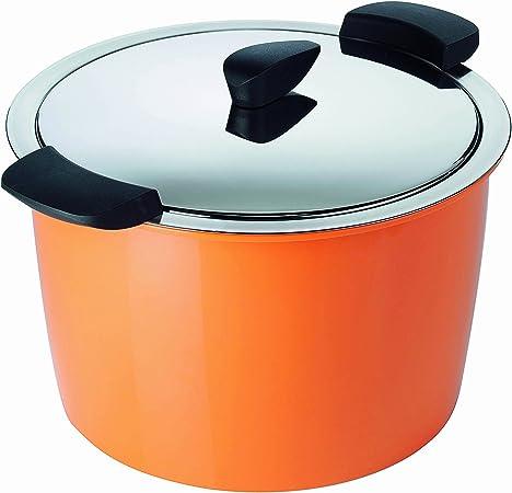 Kuhn Rikon 5-Quart Hotpan Stockpot, Orange