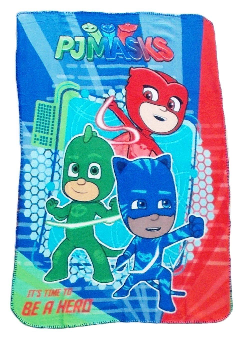 PJ Masks Héroes en Pijamas PJ61001 Manta Polar, Multicolor, Gatuno, Buhíta, Gecko (Tres): Amazon.es: Hogar
