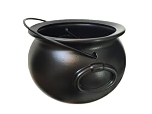 """GIFTEXPRESS 8"""" Black Cauldron MADE IN THE USA"""