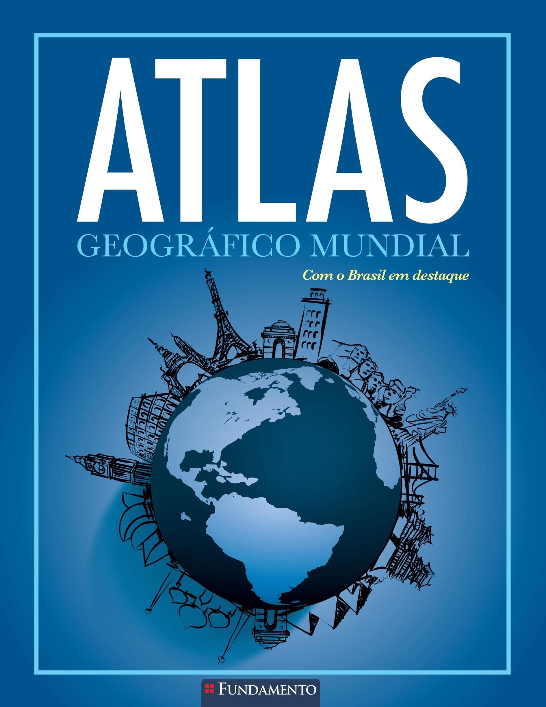 Atlas Geográfico Mundial (Em Portuguese do Brasil): Amazon.es: Olly Phillipson: Libros